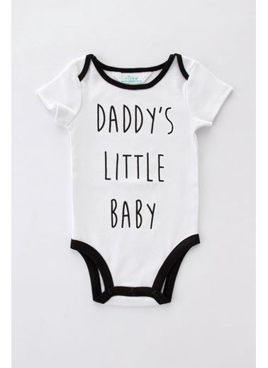 Penti Optik Beyaz Bebek Family Dark Bodysuit Beyaz